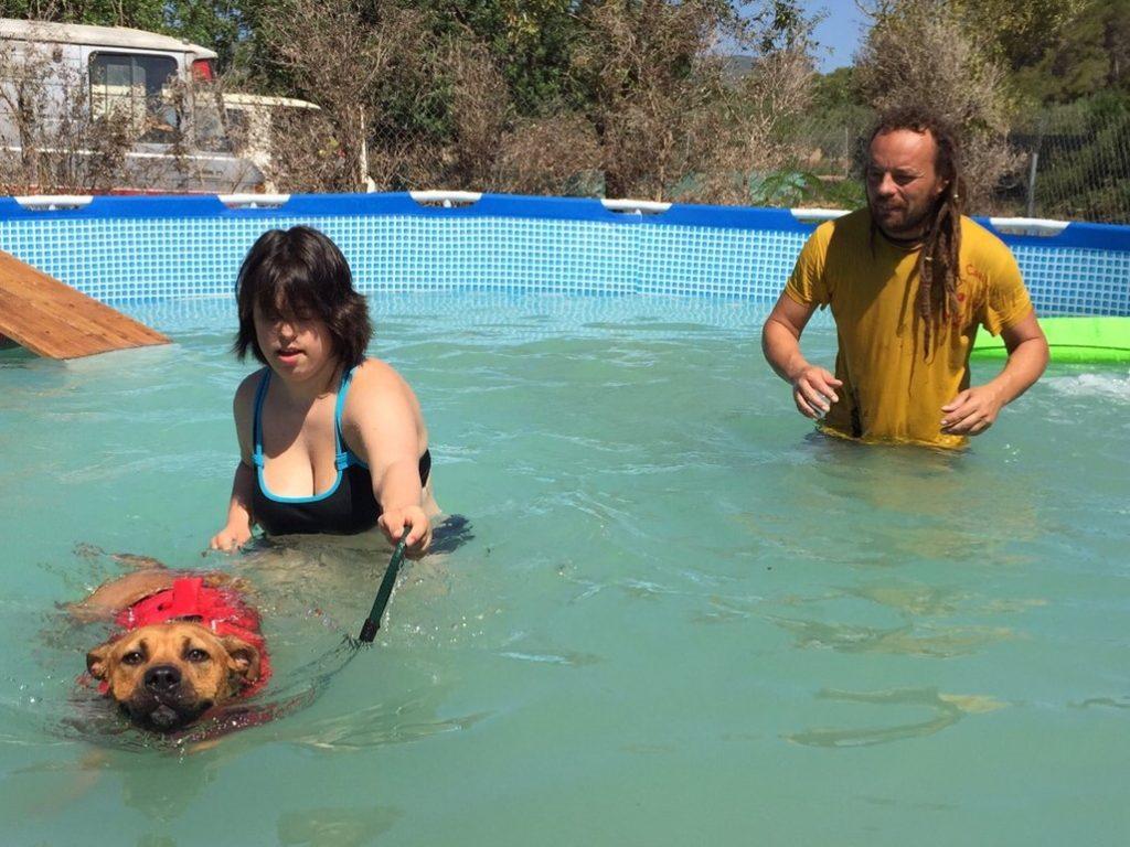Actividad A.A.A. hidroterapia